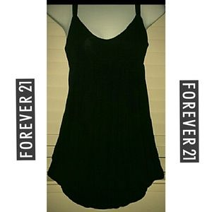 *Forever 21 Black Bubble Tank*
